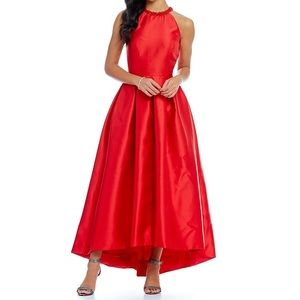 Carmen Marc Valvo High-Low Infusion Evening Gown